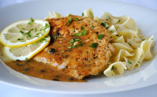 Chicken Picatta Cropped