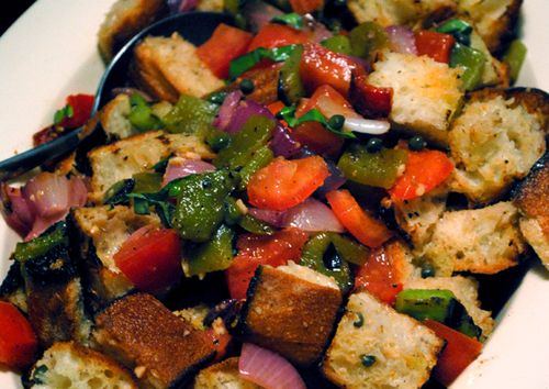 Grilled Panzanella Salad Cropped