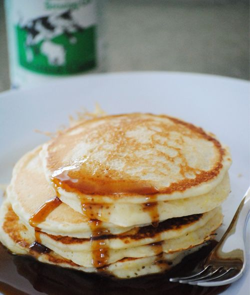 Dairy free Bee Pancakes